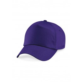 Gorra niño de 5 Paneles Purpura