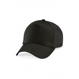 Gorra niño de 5 Paneles Negra