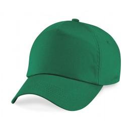 Gorra niño de 5 Paneles Verde Kelly.