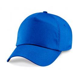 Gorra Adulto 5 Paneles Azul Real