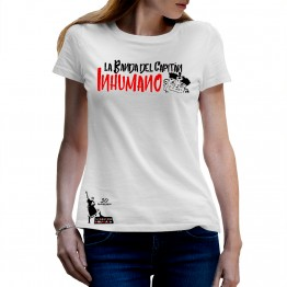 Pack Camiseta Mujer Blanca Saqueando Camerinos