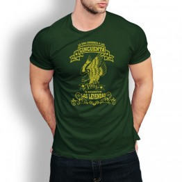 Camiseta Leyenda a los 50 VERDE
