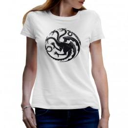 camiseta mujer blanca kalessy