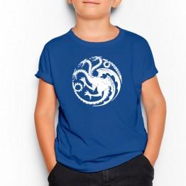 Dragon kalessi niño azul