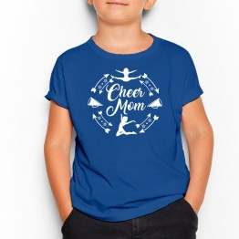 CAMISETA CHEER MOM niño AZUL