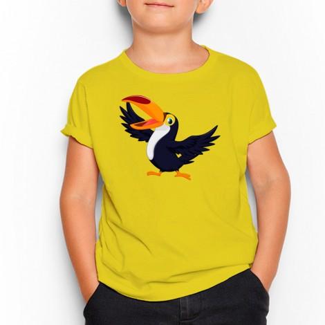 d10b43787 Camiseta de niño Tucan cartoon