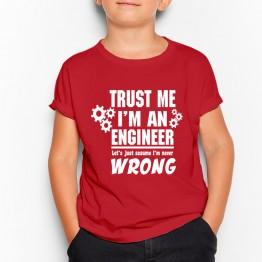 camiseta ingeniero friki niño
