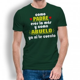 Camiseta Padre y Abuelo hombre