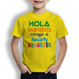 camiseta hermano compañia niños