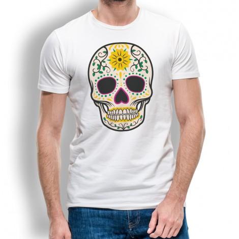 c999e4d76fd4d Camiseta Calavera con Sol para Hombre